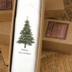 Mens Christmas tree Handkerchief