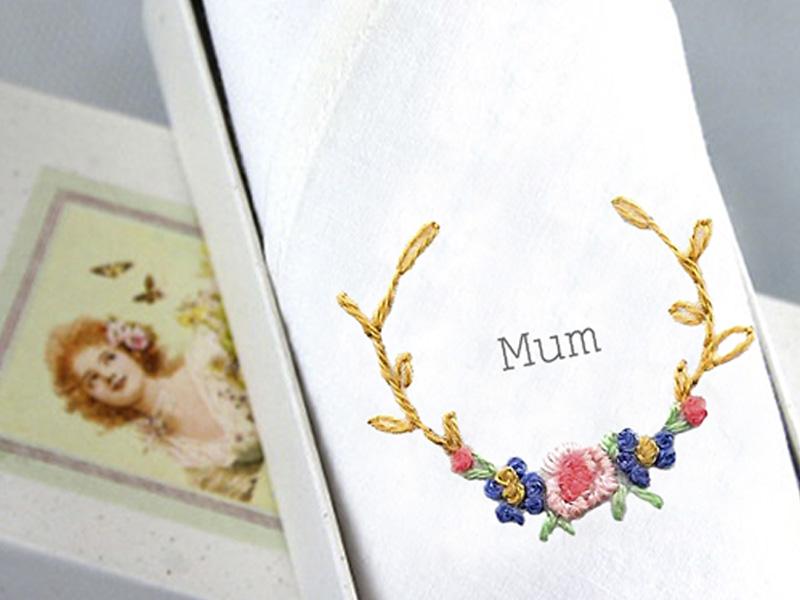 mum handkerchief